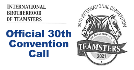 IBT Official 30th Convention Call