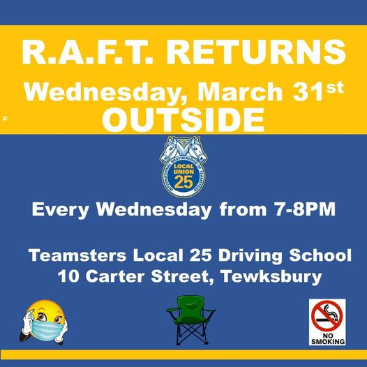 R.A.F.T Meetings Return In Person